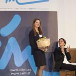 Dr. Alexandra Mayr, die Organisatorin der 2. KIM