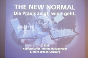 THE NEW NORMAL - Die Praxis zeigt, wie's geht